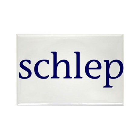 Schlep Rectangle Magnet (100 pack)