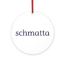 Schmatta Ornament (Round)
