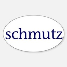 Schmutz Sticker (Oval)