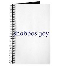 Shabbos Goy Journal