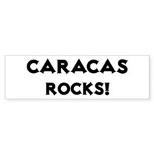 Caracas Rocks! Bumper Bumper Sticker
