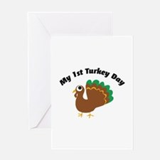My 1st Turkey Day Greeting Card