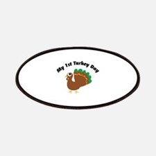My 1st Turkey Day Patches