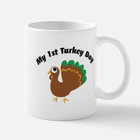 My 1st Turkey Day Mug