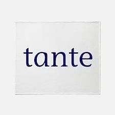 Tante Throw Blanket