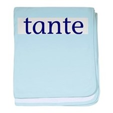 Tante baby blanket