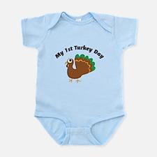 My 1st Turkey Day Infant Bodysuit