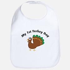 My 1st Turkey Day Bib