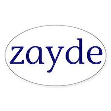 Zayde Decal