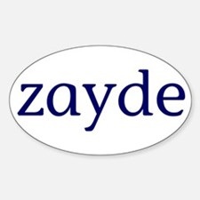 Zayde Decal