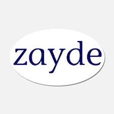 Zayde 22x14 Oval Wall Peel