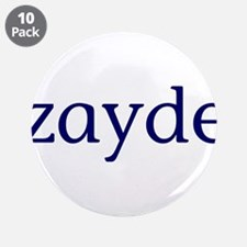 """Zayde 3.5"""" Button (10 pack)"""