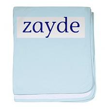 Zayde baby blanket