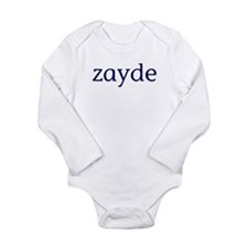 Zayde Long Sleeve Infant Bodysuit