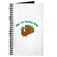 My 1st Turkey Day Journal