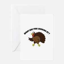What are you looking at ? Greeting Card
