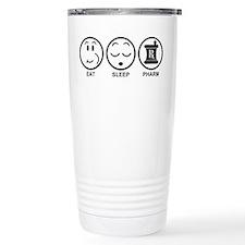 Eat Sleep Pharm Travel Mug