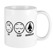 Eat Sleep Archaeology Mug
