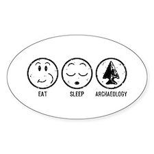 Eat Sleep Archaeology Decal