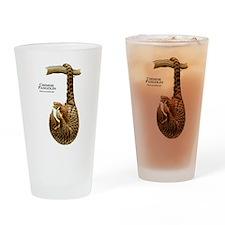 Chinese Pangolin Drinking Glass