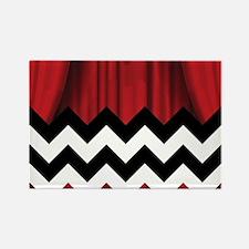 twin peaks chevron Magnets