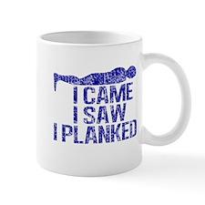 Funny Planking Small Mug