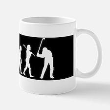 Evolved To Golf Mug