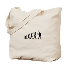 Evolved To Golf Tote Bag