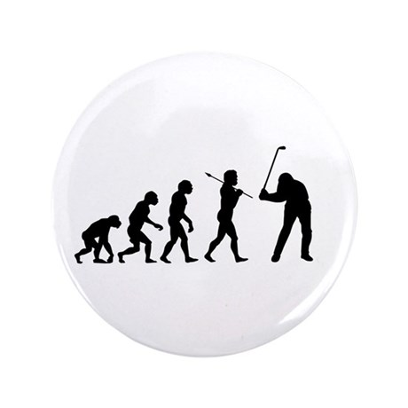 "Evolved To Golf 3.5"" Button"