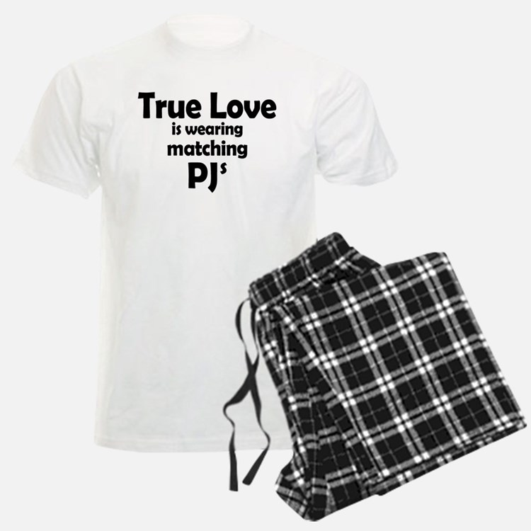 Love is matching PJs Pajamas