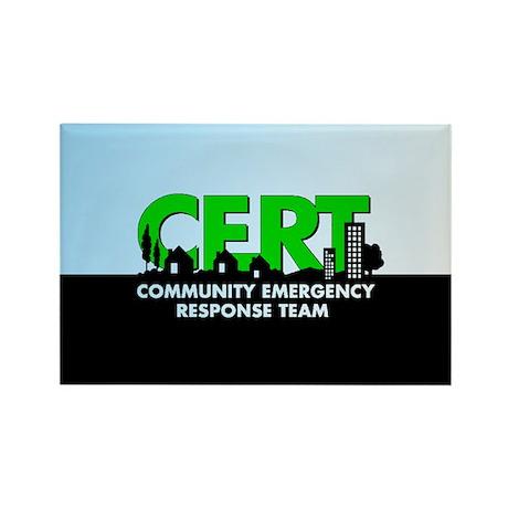 CERT Rectangle Magnet (10 pack)