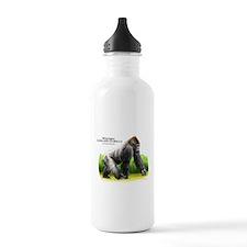 Western Lowland Gorilla Water Bottle