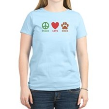 Peace Love Dogs 2 T-Shirt