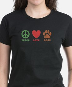 Peace Love Dogs 2 Tee