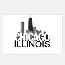 Chicago Skyline Postcards (Package of 8)