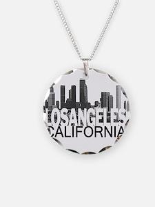Los Angeles Skyline Necklace