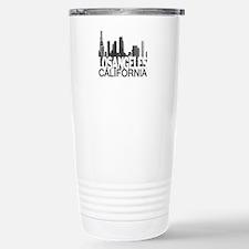 Los Angeles Skyline Stainless Steel Travel Mug