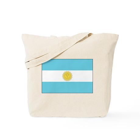 Argentina National Flag Tote Bag