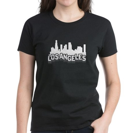 Los Angeles Sign Women's Dark T-Shirt