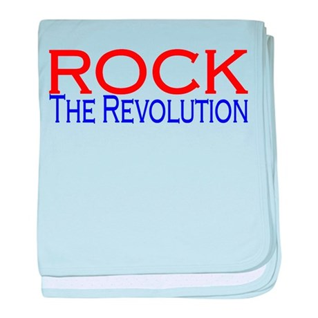 Rock The Revolution baby blanket