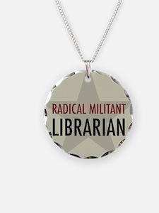 Radical Militant Librarian Necklace