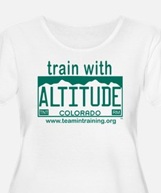 Design #2 - Train with Altitude copy Plus Size T-S