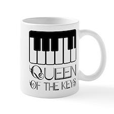 Queen Of Piano Keys Small Mugs