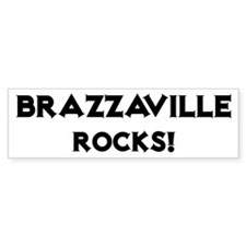 Brazzaville Rocks! Bumper Bumper Sticker