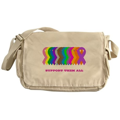 Support them all Messenger Bag