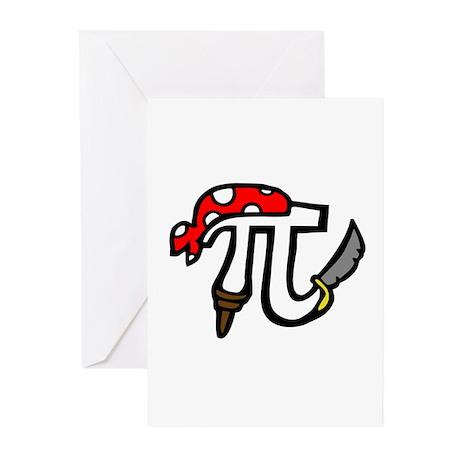 Pi Pirate Greeting Cards (Pk of 10)
