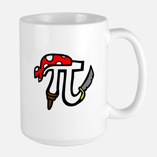 Pi Pirate Large Mug