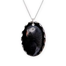African Grey Necklace