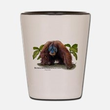 Sumatran Orangutan Shot Glass