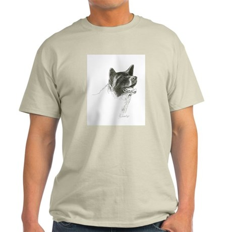 Akita Smiling Light T-Shirt
